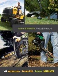 Lawn & Garden Product Brochure - Husqvarna Group