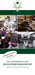 die geheimnisse der delicatessen manufaktur - Valenbrook