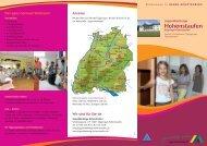 aktueller Hausprospekt - Jugendherberge Hohenstaufen