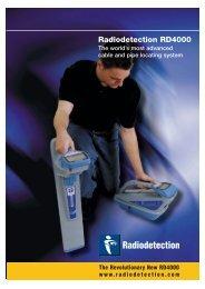 Radiodetection RD4000 - Van Rijn Electric Ltd.