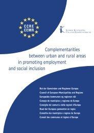 Complementarities between urban and rural areas in promoting ...