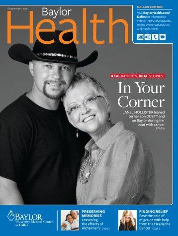 Dallas - Baylor Online Newsroom - Baylor Health Care System