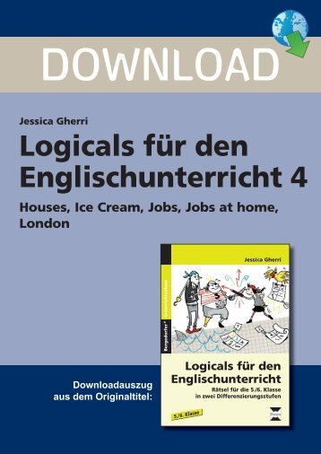 Logicals für den Englischunterricht 4 - FORREFS