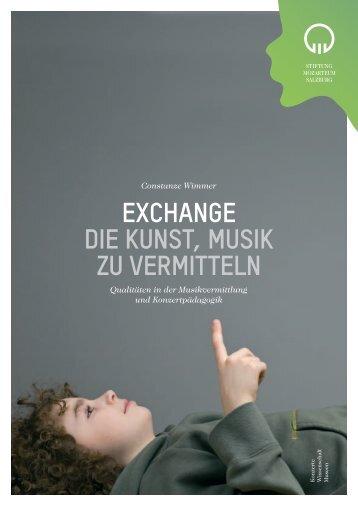 EXCHANGE DIE KUNST, MUSIK ZU  VERMITTELN - Miz.org