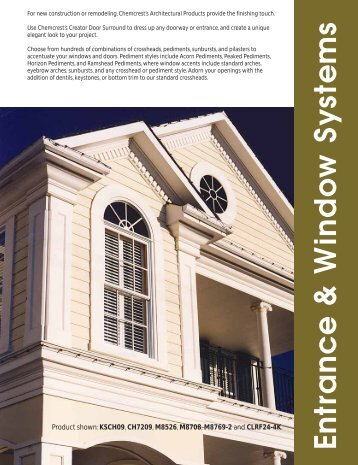 Download a .pdf file of the Entrance and Windows portion of our ...