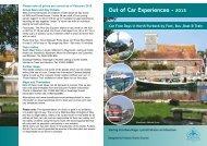 Out of Car Experiences - 2013 - Visit Dorset