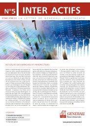 Lettre d'information Inter Actifs n°5 - Haussmann Patrimoine