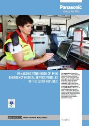 Panasonic Toughbook CF-19 in Emergency Medical ... - Business