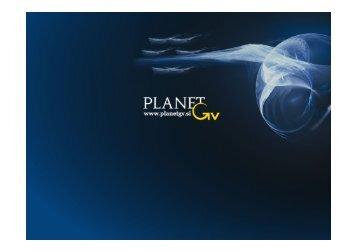 Mag. Dejan Petkovič - Planet GV