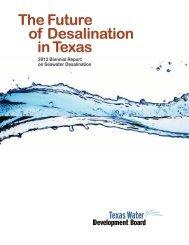 2012 Biennial Report on Seawater Desalination - Texas Water ...