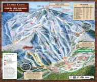 Download a PDF version of our Mount Sunapee Trail Map
