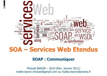 03 - Web Service - SOAP - Project web sites