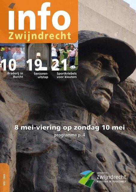 8 mei-viering op zondag 10 mei - Gemeente Zwijndrecht