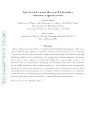 Spin dynamics across the superfluid-insulator transition of spinful ...