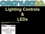 Wireless Lighting Control: A Life Cycle Cost ... - Architectural SSL