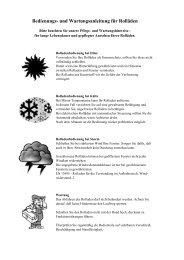 Bedienungs- und Wartungsanleitung für Rolläden - Rolloscout