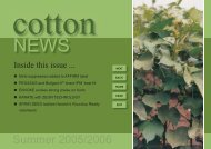 NEWSLETTER - Cotton 2006 - Pest Genie