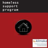 homeless support program
