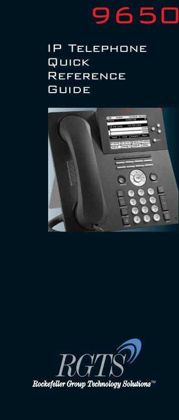 Avaya 9650 - RGTS