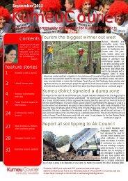 September 2013 - Kumeu Courier