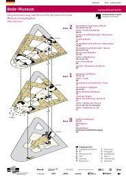 Raumplan des Bode-Museums