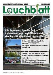 pdf 2,8 MB - Home @ BÜRGERFORUM LAUCHHAU-LAUCHÄCKER
