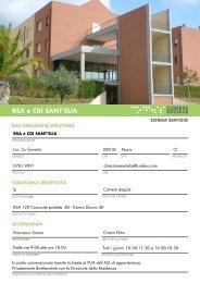 RSA e CDI SANT'ELIA - Codess Sociale