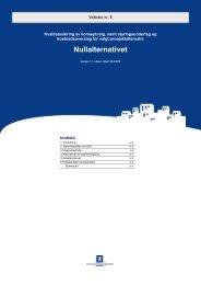 Veileder nr 8 Nullalternativet - Concept