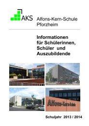 Informationsbroschüre für unsere Schülerinnen und Schüler