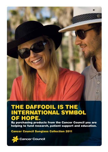 The daffodil is The inTernaTional symbol of hope. - Sunshades ...
