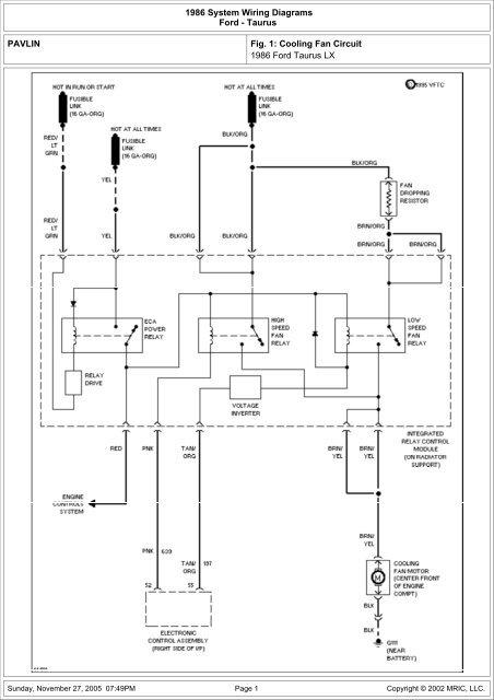 Taurus Fan Wiring Diagram from img.yumpu.com