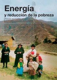 Energía y reducción de la pobreza