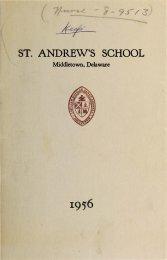 k;A-· - - Saint Andrew's School Archive - St. Andrew's School