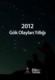 2012 Gök Olayları Yıllığı (PDF, 15 MB) - TUG - Tübitak