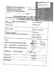 Protokol o vyhodnocení + čestné prohlášení - Bezkorupce
