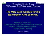 Turner PPT [Read-Only].pdf - Center for Regional Analysis - George ...