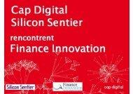Télécharger la présentation des 11 entreprises - Finance Innovation