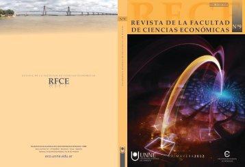 Revista Nº 9 - FCE - Primavera 2012 - facultad de ciencias ...