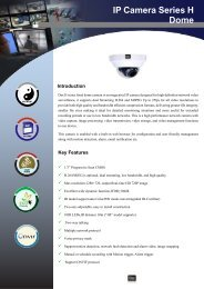 IP Camera Series H Dome - Dax Networks