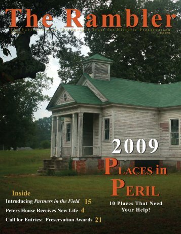 FALL 2008.indd - The Georgia Trust for Historic Preservation