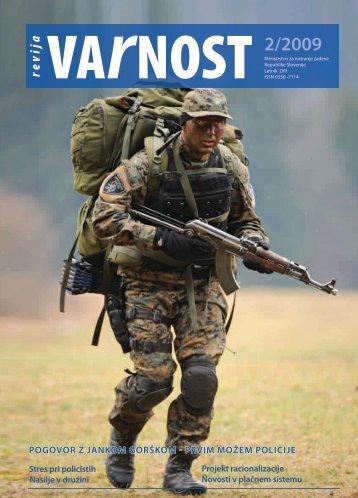 VARNOST - 2.indd - Ministrstvo za notranje zadeve