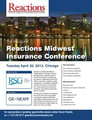Reactions Midwest Insurance Conference