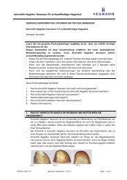 Gebrauchsinformation Amorolfin Nagelkur Heumann