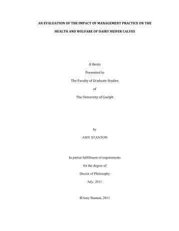 Stanton PhD Thesis final.pdf - Atrium - University of Guelph