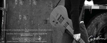 catálogo Español de Godin. - Godin Guitars