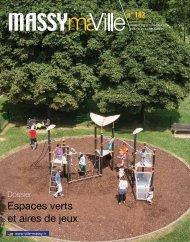 Espaces verts et aires de jeux - Massy