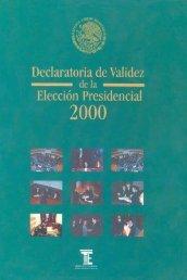 Declaratoria de Validez de la Elección Presidencial (2000)