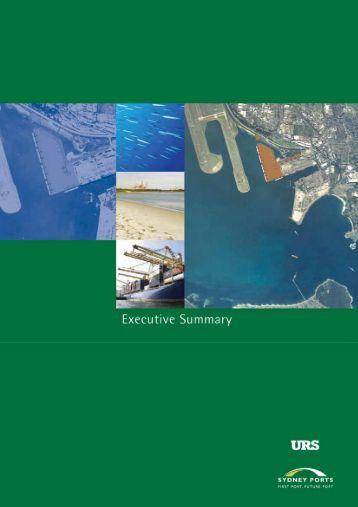 Executive Summary - Eden Port Authority