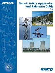 Electric Utility Application and Reference Guide - Erico