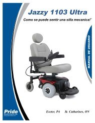 Jazzy 1103 Ultra - Pride Mobility Products